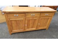 Extra Large Solid Oak Sideboard,Excellent Condition,We Can Deliver