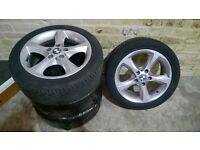 "BMW Alloy Wheels 17""Inch with Tyres - Model E87 *** GREAT CONDITION***"