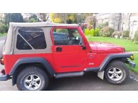 Jeep Wrangler 4L Sport 119500 miles