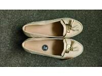 Size 7 EXTRA Wide Fit Nude Loafer