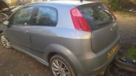 breaking fiat grande punto sporting grey