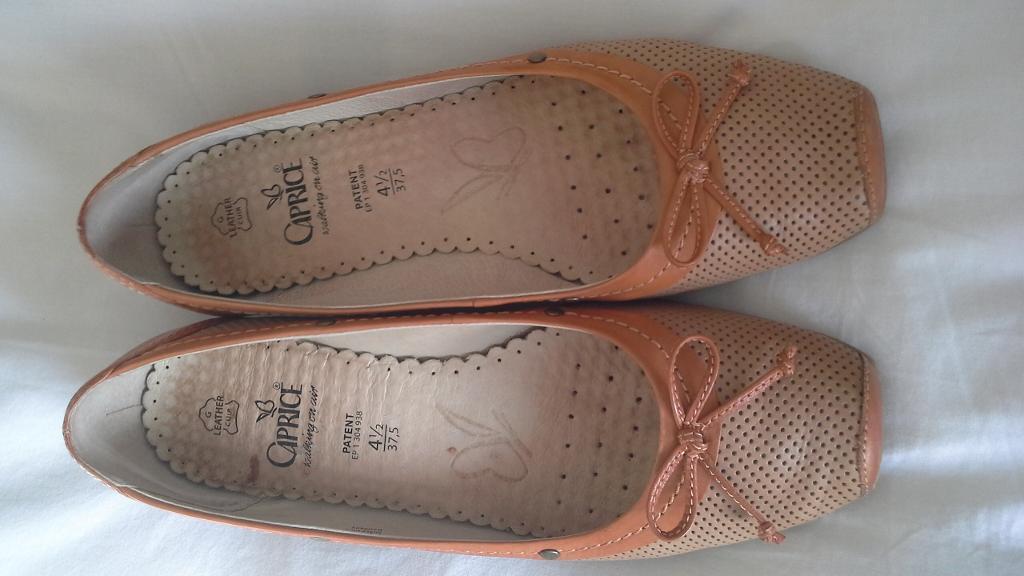 Caprice ballet pump style shoes