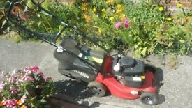 Sovereign self propelled lawn mower