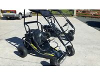 Go-kart, go-cart, drift buggy, used twice.