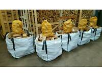🔥🌳KILN DRIED HARDWOOD LOGS🌳🔥LUXURY FIREWOOD 4 SALE-FREE KINDLING/DUMPY BAG-NORTH EAST AREAS