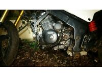 lexmoto xtr 125cc motorbike in parts