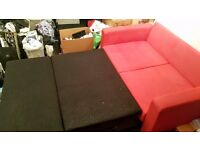 Argos 'Apartment' Metal Action Double Sofabed - £120