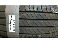Matching pair 215 55 18 michelins 6 to 7mm tread £70 fittd n balancd oon 7 days txt size to