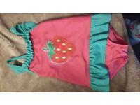 2-3 strawberry swimsuit