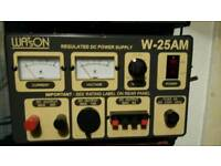 For Sale Watson W-25 AM Power Supply 20-30amp