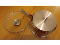 20cm Dunelm Saucepan with Lid (Brand new)
