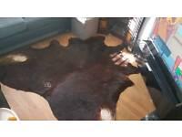 Large cow hide rug