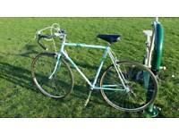 Triumph vintage road bike