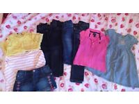 Age 4-5 girls clothes including RALPH LAUREN and REPLAY