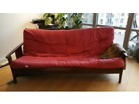FUTON couch, sofabed, disassembled, price negotiable Canning Town self pick up