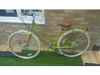 New Orla Kiely Womens Ladies City Town Pendleton Somerby Hybrid Dutch Step over style Classic Bike