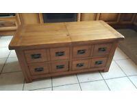 For sale Solid oak wooden furniture set ex condition