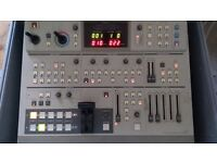 Professional Video and Audio Mixer - With Flightcase