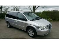 2007 Chrysler Grand Voyager Executive XS 2.8Crd Sat Nav DVD stow and go 79k miles