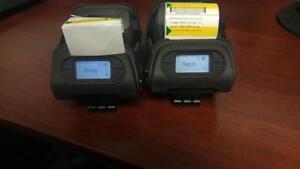 LOT of 2 Mobile Printer Sewoo LK-P12 Mobile Receipt/Label Printer