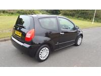 CITROEN C2 1.1i SX Low Miles A Very Nice Unique Car Low Running Costs (black) 2004