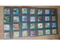 gameboy carts and gameboy colour carts all games £3 each