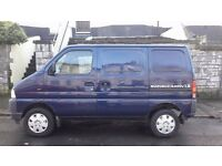 Suzuki Carry 1.3 Panel Van (no MOT, needs £350 worth of welding only to pass)