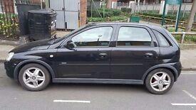 Vauxhall Corsa Automatic 1.4i Black 5 Door 2005 Petrol Female Owner