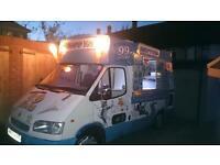 Ice cream van great condition