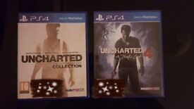 Uncharted 1-4, Very Good condition