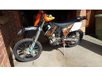 KTM 250 EXC- Highly customized and in good condition!!