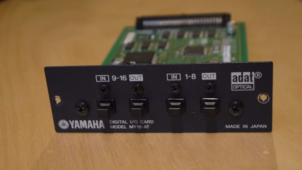 Yamaha MY16AT 16 channel ADAT Mini-YGDAI card for 01V96/02R96/DM1000/DM2000