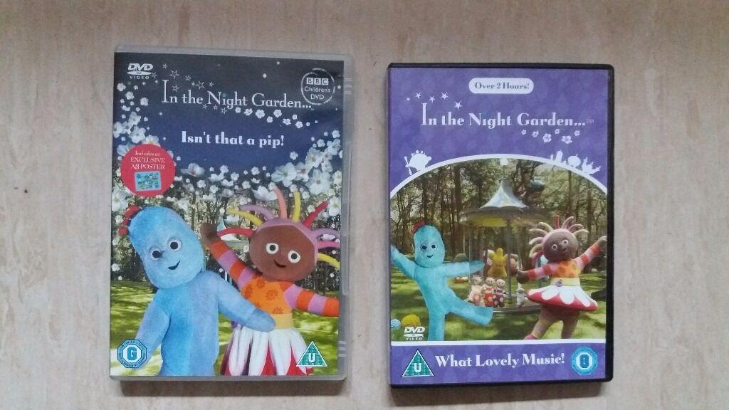 2In the Night Garden Childrens DVDin Beeston, NottinghamshireGumtree - For Sale 2× In the Night Garden Childrens DVD. Pet smoke free home