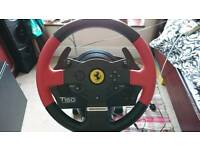 T150 Thrustmaster with wheelstand pro good as new only used a couple of times