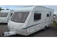 2005 4 BERTH ABBEY WITH 'L' SHAPED LOUNGE AWNING LARGE BATHROOM EXCELLLENT ALL ACCESSORIES FOR HOLS.