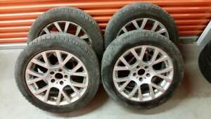 (H118) 4 Jantes 18 pouces - 4 Mags 18 inch - BMW 7 Series 5x120