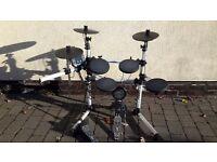 Electronic drum kit.