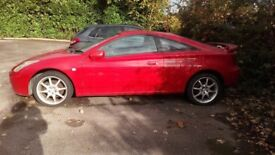 Toyota Celica 2004 BREAKING for spare parts LOW MILEAGE GOOD PARTS