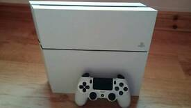 PS4 Console White C Chassis 500gb 6 months old