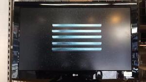 Télévision 37 pouces de marque LG modèle 37LG30 en excellente état Z006680