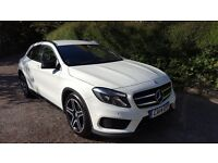 Mercedes GLA, Manual, 1 owner, Integrated Sat Nav, White