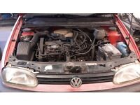 Vw Golf mk3 1.9 TD AAZ T25 CONVERSION