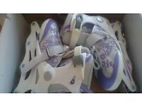 Inline Skates Uk 1.5 to 3.5. Only used twice, in very good condition in box.