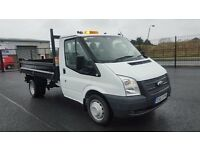 Late 2013 Ford Transit 350 TIPPER **ONLY 18500mls
