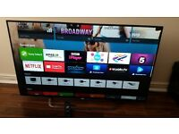 Sony KDL-43W755C 43 inch Smart Full HD Android TV with built-in Wifi, Youview,Freeview & Freesat HD