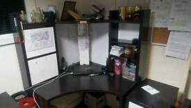 office furniture set 2 corner tables 3 chairs 3 drawers