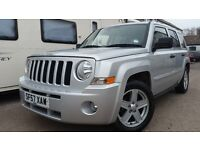 2008 JEEP PATRIOT LIMITED 2.0CRD DIESEL 4X4 SILVER NEW MOT EXCELLENT CONDITION