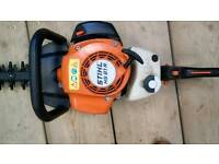 Stihl hs 81r double cutting edge