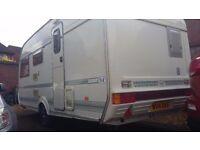 coachman mirage 480/4 lightweight 4 berth caravan 1996