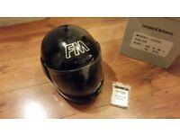 Motorcycle FM crash helmet Size S